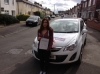 Luisa passed with Independence Driving School