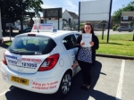 Maisie Cross passed with Independence Driving School