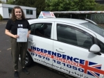MEGAN O SULLIVAN  passed with Independence Driving School