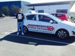 MICHAEL HILL passed with Independence Driving School
