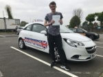 NATHAN KNIGHTON passed with Independence Driving School