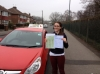 Rebecca passed with Independence Driving School
