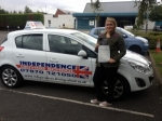ROSE POWELL passed with Independence Driving School