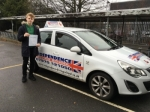 SAM BRADFORD  passed with Independence Driving School