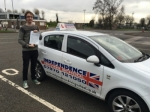 Sam Frith passed with Independence Driving School