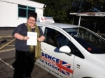 Sam Milne passed with Independence Driving School