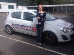 SHELLIE RIGBY-SINGLETON passed with Independence Driving School