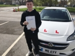 SPENCER GREEN passed with Independence Driving School