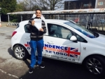 TAZIM JAFFER passed with Independence Driving School