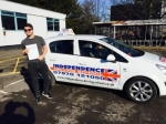 TOM SLANEY passed with Independence Driving School