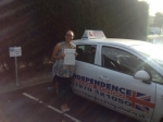 VICTORIA SUTTON passed with Independence Driving School