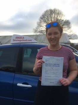 Can't thank Paul from Angela's school of motoring. After failing 3 tests with another Instructor I started afresh with Paul. Immediately I felt more confident. He picked up on problems I was having and with his calmness and reassurance I was able to build up the courage to go for another test. And yes I have passed with ease- only 2 minor faults <br /> <br /> Will definitely recommend Paul to anyone want