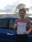Louis passed with Angela Driving School