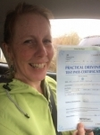 Colette Thomas passed with Angela Driving School