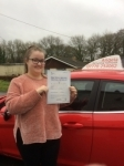 Georgina Jones passed with Angela Driving School