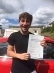 Lewis Barrett  passed with Angela Driving School