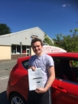 Harry Vass passed with Angela Driving School