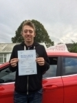 Daz Sarsfield passed with Angela Driving School