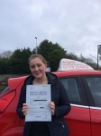 Shannon Searle passed with Angela Driving School