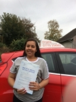 Courtney D'angelo passed with Angela Driving School