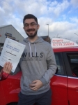 Morgan Rees passed with Angela Driving School