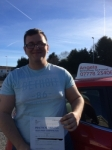 Chris Slocombe passed with Angela Driving School