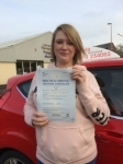 Natasha Lane passed with Angela Driving School