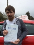 Stuart Williams passed with Angela Driving School