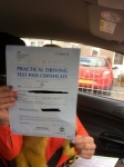 Llinos Flowers passed with Angela Driving School