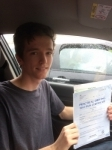 Nathan Lawrence passed with Angela Driving School