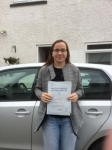Catrin Fry passed with Angela Driving School
