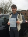 Iwan Heseltine passed with Angela Driving School