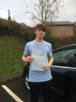 Jack Terry passed with Angela Driving School