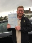 Brian Hughes passed with Angela Driving School