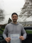 Dan Morgan passed with Angela Driving School