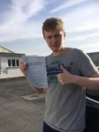 Conor O'Carroll passed with Angela Driving School