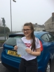 Amber Maddison passed with Angela Driving School