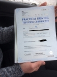 Jon Pearson passed with Angela Driving School
