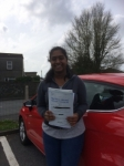 Akshiya passed with Angela Driving School