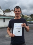 Dale Rees passed with Angela Driving School