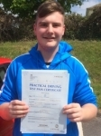 Lewys Price passed with Angela Driving School