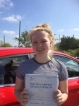 Sioned Thomas passed with Angela Driving School