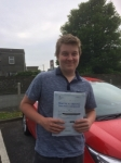 Jack Evans passed with Angela Driving School