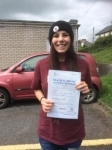 Sara Rees passed with Angela Driving School