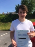 Declan Jervis passed with Angela Driving School