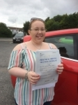 Gwendolen Garriety passed with Angela Driving School