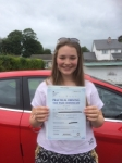 Helin Lewis passed with Angela Driving School