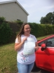 Kelly Houghton passed with Angela Driving School