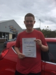 Emyr Thomas passed with Angela Driving School