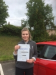 Hannah Lockley passed with Angela Driving School